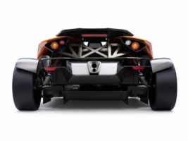 KTM X Bow Rear View Wallpaper Concept Cars