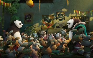 Kung Fu Panda 3 Po Dad