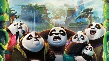 Kung Fu Panda 3 Po Family