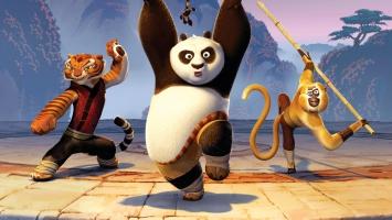 Kung Fu Tigress Panda Monkey