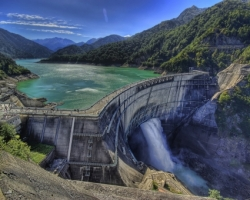 Kurobe Dam Wallpaper Japan World