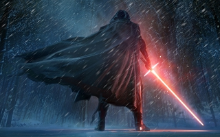 Kylo Ren Star Wars The Force Awakens Artwork