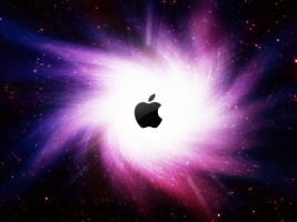 L espace 2 Wallpaper Apple Computers