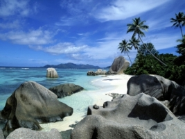 La Digue Island Wallpaper Seychelles World