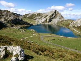 Lake Enol National Park Spain