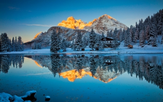 Lake Misurina Reflections