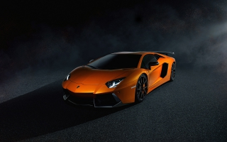 Lamborghini Aventador LP700 4 Orange