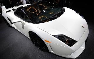 Lamborghini Beautiful Car Wide