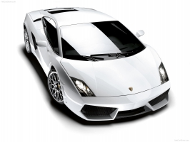 Lamborghini Gallardo LP in White