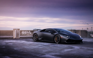 Lamborghini Huracan on ADV1 wheels