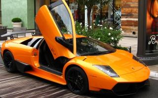 Lamborghini Murcielago in Public