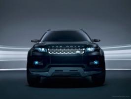 Land Rover LRX Concept Black 6