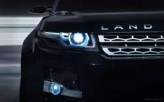 Land Rover LRX Concept Black 8
