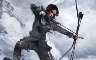 Lara Croft Rise of the Tomb Raider Official Artwork