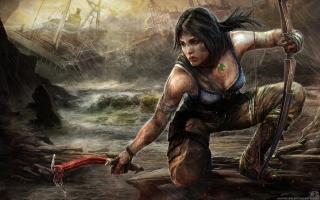 Lara Croft Tomb Raider Artwork