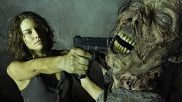 Lauren Cohan Maggie Zombie Kill