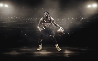 LeBron James Basketball Player
