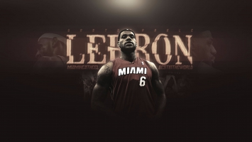 LeBron James Miami Heat 4K