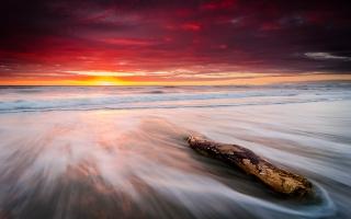 Leithfield Beach Sunrise