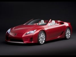 Lexus LF A Roadster Wallpaper Lexus Cars
