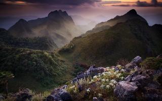 Limestone Mountain Thailand