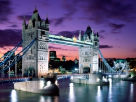 London Evening Wallpaper England World
