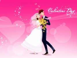 Love Dance Wallpaper Valentines Day Holidays