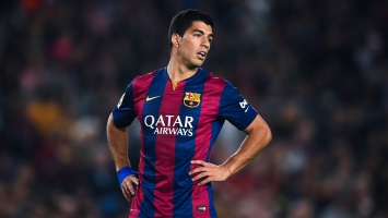 Luis Suarez Uruguayan footballer
