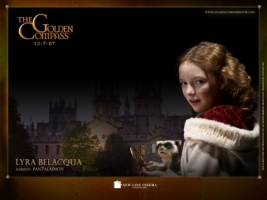 Lyra Belacqua Wallpaper The Golden Compass Movies
