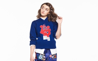 Maisie Williams Nylon Magazine 2016