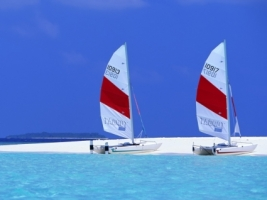 Maldives Sailboats Wallpaper Maldives World