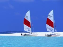 Maldives Sailboats Wallpaper Maldives World