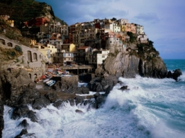 Manarola Italy Wallpaper Italy World