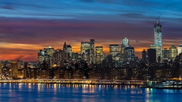 Manhattan Skyline New York Panorama