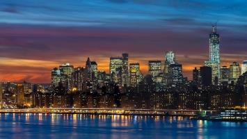 Manhattan Skyline New York Panorama