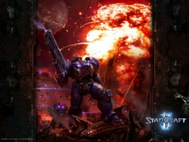 Marine Wallpaper Starcraft 2 Games