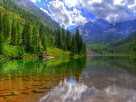 Maroon Bells Wallpaper Landscape Nature