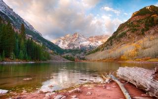 Maroon Lake Aspen Colorado