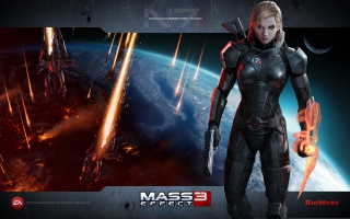 Mass Effect 3 Girl