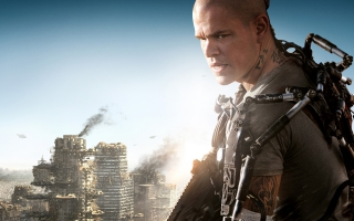 Matt Damon's Elysium