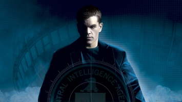 Matt Damon in Bourne Movies