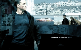 Matt Damon Wallpaper Bourne Ultimatum Movies