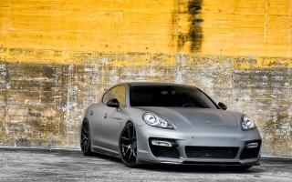 Matte Finish Porsche Panamera