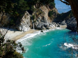 McWay Falls Wallpaper Waterfalls Nature
