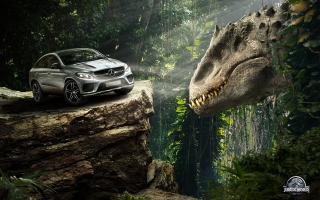 Mercedes Benz GLE Coupe Jurassic World