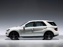 Mercedes Benz M Class Edition 10 Side Wallpaper Mercedes Cars