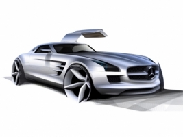 Mercedes Benz SLS AMG Wallpaper Concept Cars