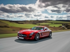 Mercedes SLS AMG Wallpaper Mercedes Cars