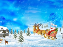 Merry Christmas drawing Wallpaper Christmas Holidays
