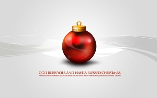 Merry Christmas God Bless You